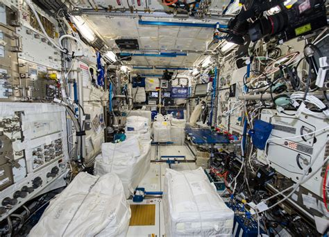 International Space Station Interior by Inside Columbus Spaceref