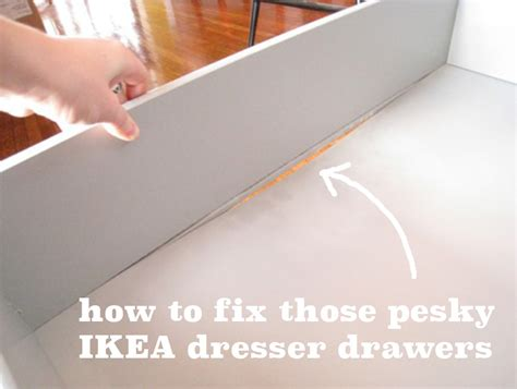 How To Fix A Drawer by Cheap Drawers And The Fix Merrypad
