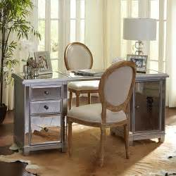 Makeup Vanity Table Pier One Build Your Own Hayworth Mirrored Desk Collection Pier 1