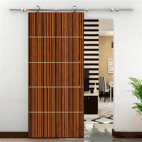 Bamboo Barn Door - barn doors with style style plus renovations