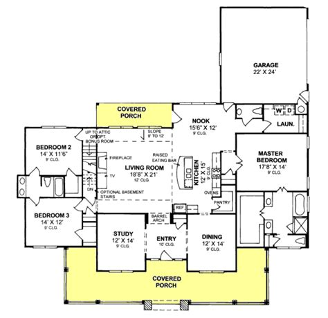 floorplans com traditional style house plan 3 beds 2 5 baths 2516 sq ft