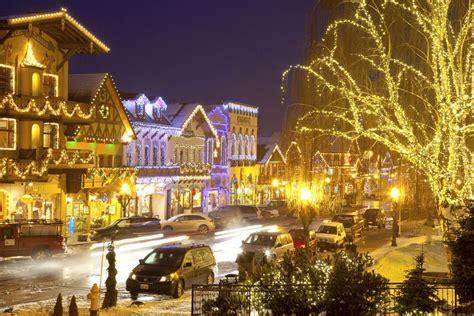 Christmas Fun In The Northwest Us Lighting Leavenworth