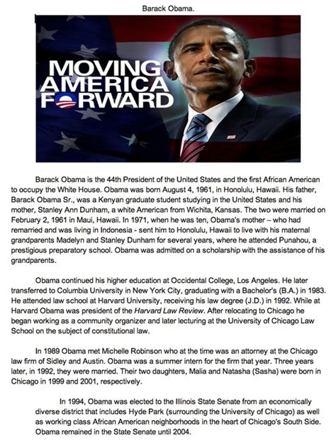 biography of obama 19 best images about barack obama u s president on