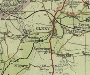 image gallery olney map