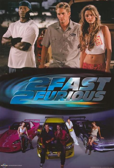 film fast and furious 2 complet poster du film 2 fast 2 furious acheter poster du film 2