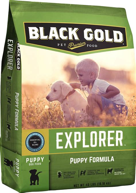 black gold puppy food black gold explorer puppy formula food 40 lb bag chewy