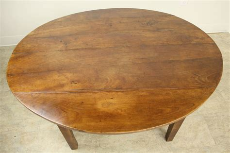 antique oval cherry coffee table at 1stdibs
