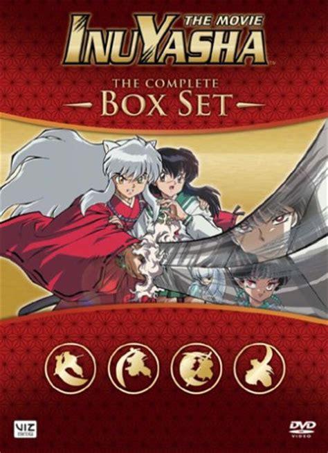 inuyasha box set inuyasha