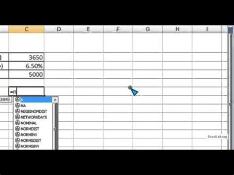 Time Value Of Money Excel Spreadsheet by Number Of Period Calculation Time Value Of Money Nper