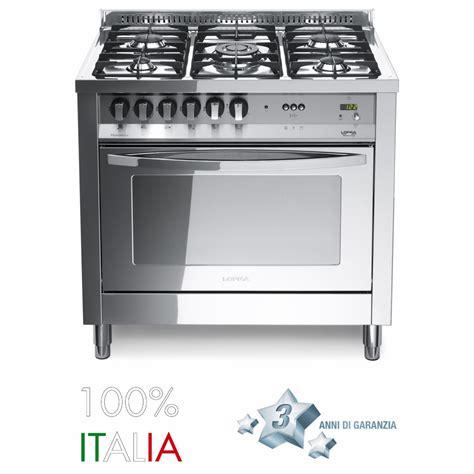 forno cucina lofra cucina rainbow 90 total inox forno elettrico