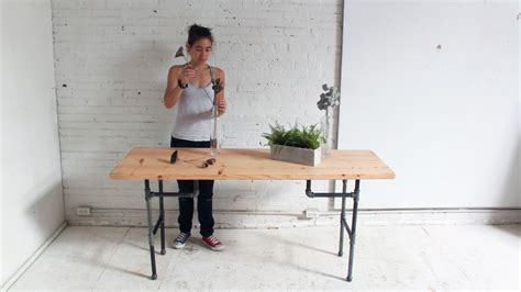 pipe desk diy diy plumbers pipe standing desk