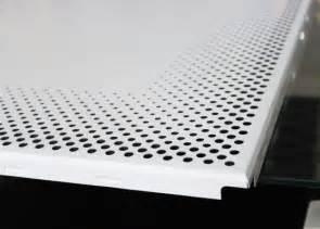 aluminium perforated metal ceiling panel