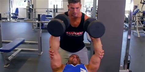 killer bench press workout brett kahn killer chest and bicep workout