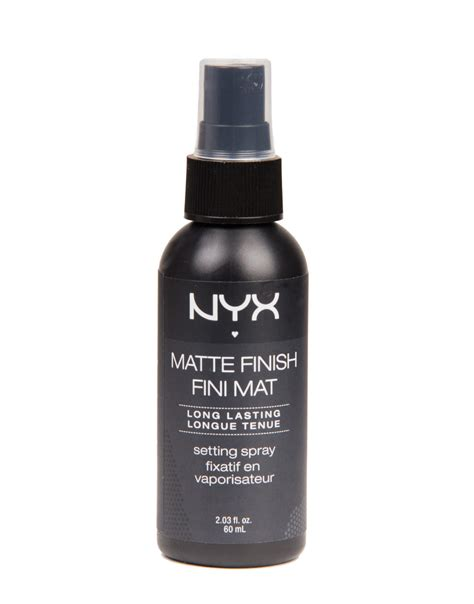 Nyx Finish Matte nyx matte finish setting spray from 2020ave