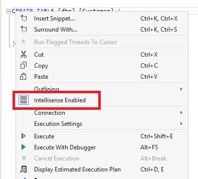 reset settings in visual studio 2015 outlining disappears when connecting to a sql database