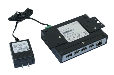 usb to ip industrial usb 2 0 ip network 4 port hub tcp ip