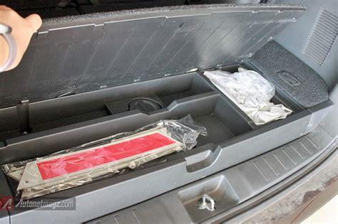 Tempat Penyimpanan Storage bagasi storage tempat penyimpanan di pajero sport baru