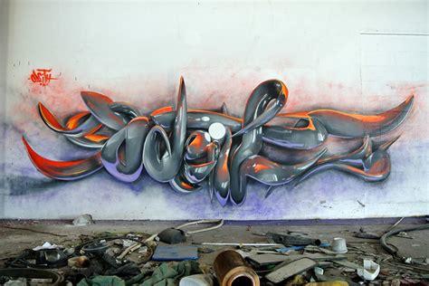 3d mural incredibly bad ass 3d graffiti murals by odeith