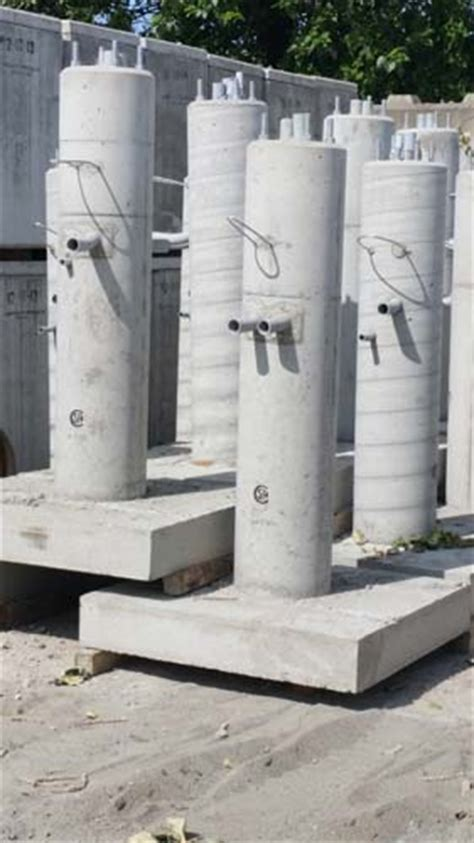 concrete light pole base project fraserway precast