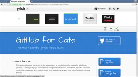 github pages templates opentechschool hosting static websites with github pages