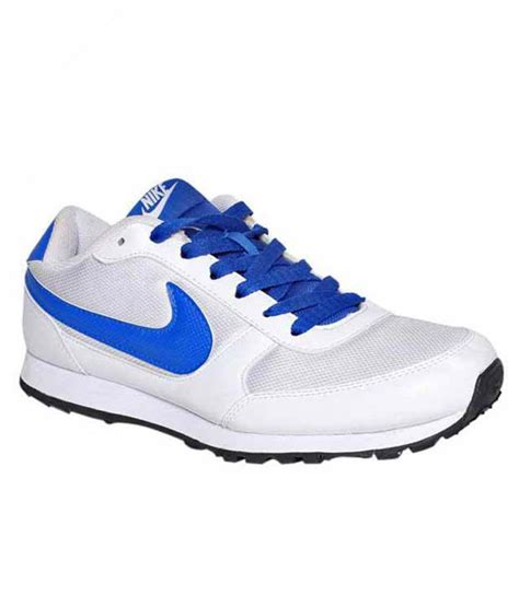 nike eliminate white blue running shoes price in india