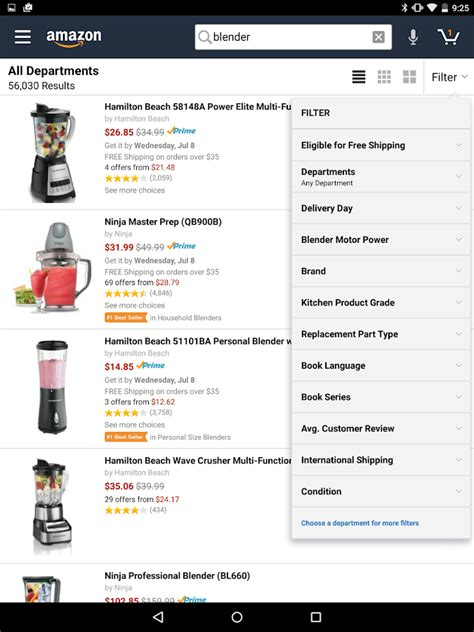 amazon apk amazon for tablets apk download android shopping apps