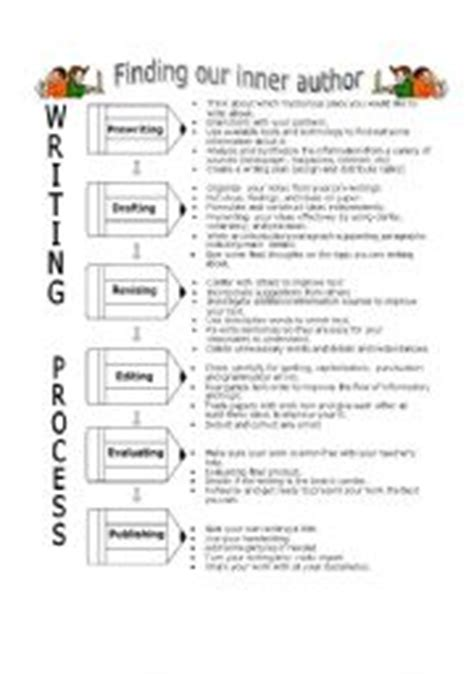 Writing Process Worksheet by Teaching Worksheets Other Writing Worksheets
