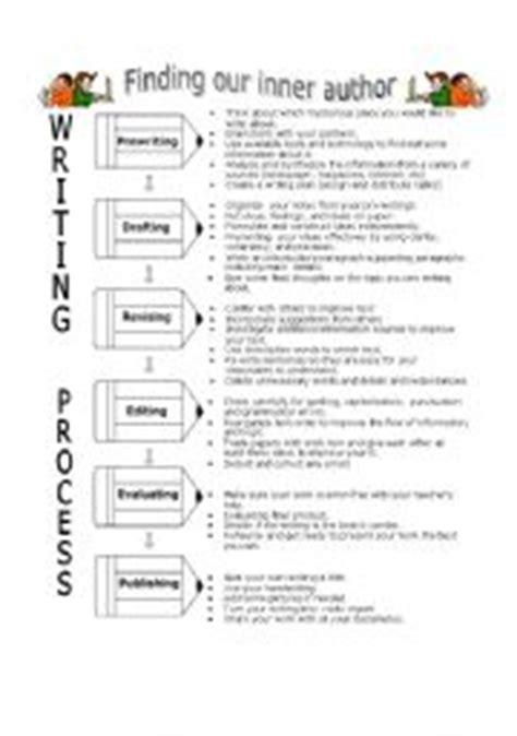printable writing process worksheet english worksheet writing process