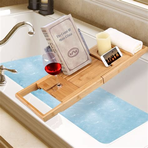 over the bathtub caddy aliexpress com buy multifunctional langria bamboo