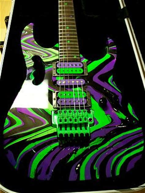 Promo Fortuner Ja 854 Purple electric guitars guitar and mind blown on