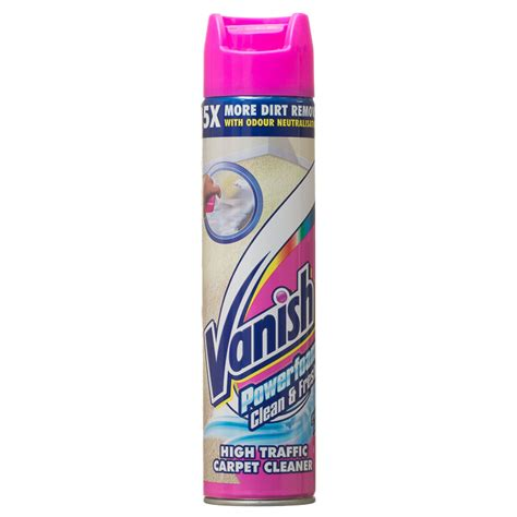 vanish powerfoam ml stain remover carpet cleaner