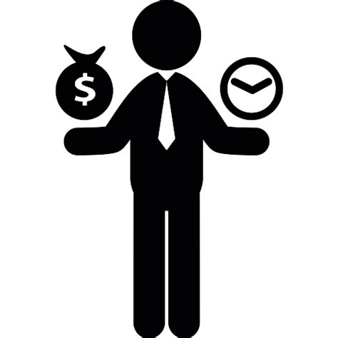 Worker money time - Free business icons
