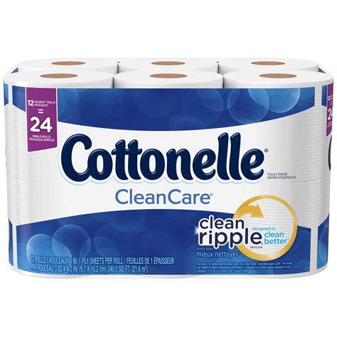 Cottonelle Toilet Paper 60 Rolls by 036000452488 Upc Cottonelle Clean Care Double Roll