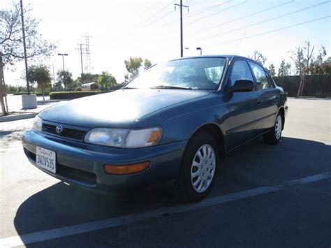 1994 Toyota Specs 1994 Toyota Corolla Trim Information Cargurus