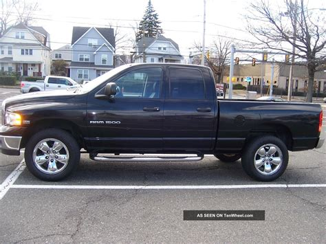 2005 dodge ram 1500 slt 4 door 5 7l