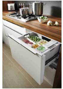 frigo a cassetti un cassetto come freezer e un armadietto come frigorifero