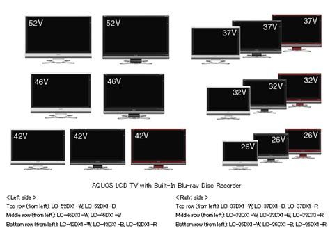 37 inches in cm sharp aquos dx series lcd hdtv with integrated blu ray