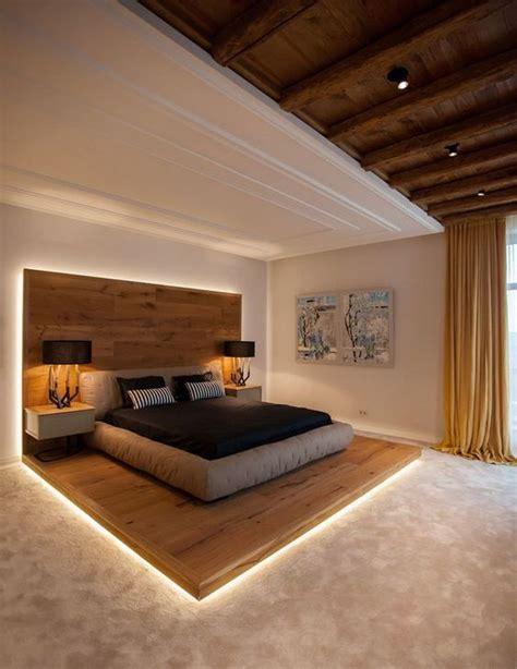 schlafzimmer ideen sterne interessantes schlafzimmer design mit holz beim