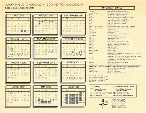 Denver Schools Calendar School Calendars Greater Denver Area Schools