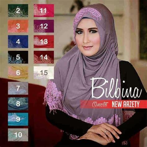20 model jilbab instan terbaru di tahun ini fashion