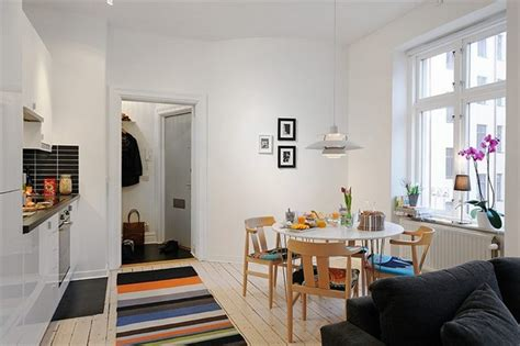 Well Planned Small Apartment with an Inviting Interior Design   Freshome.com