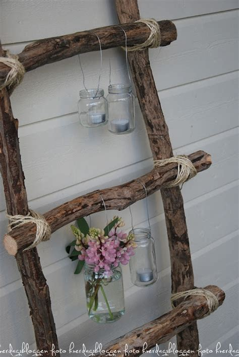 Wooden Ladder Garden Decor 25 Diy Shabby Chic Decor Ideas For Who The