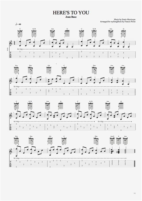 Piano notes to guitar chords