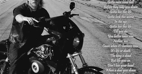theme song sons of anarchy lyrics curtis stigers the forest rangers this life theme