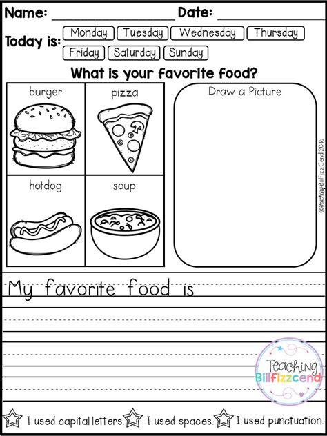 printable kindergarten journal writing prompts for kindergarten journals journals 5