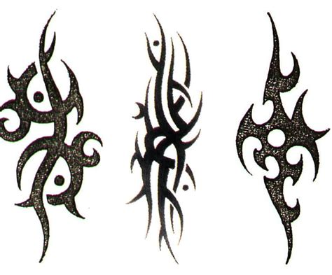 tribal tattoo symbols tribal tattoos meaning strength for www pixshark