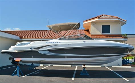 american bowrider boat brands new 2014 rinker captiva 276 bowrider boat for sale in west