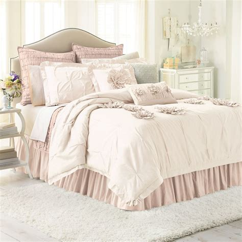 lc lauren conrad chloe 3 pc comforter set king cal