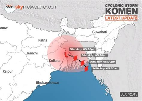 cyclonic storm komen update heavy rainfall expected over