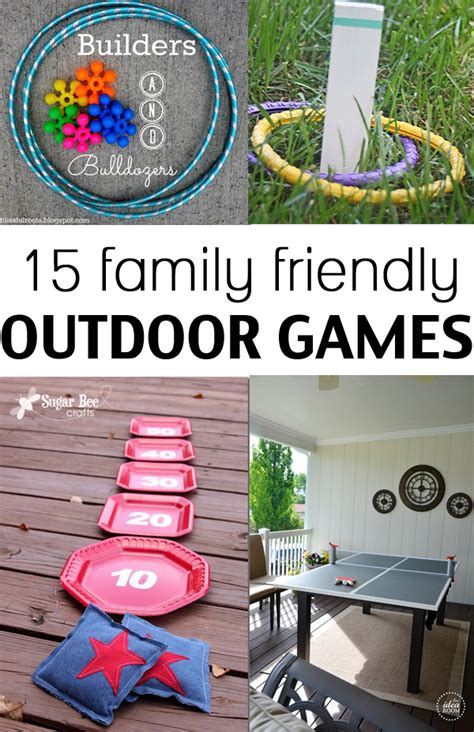 diy games 15 family friendly outdoor games